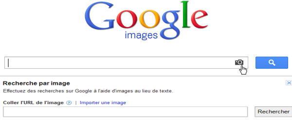 Rechercher la photo utilisée par l'escroc sur Google Image