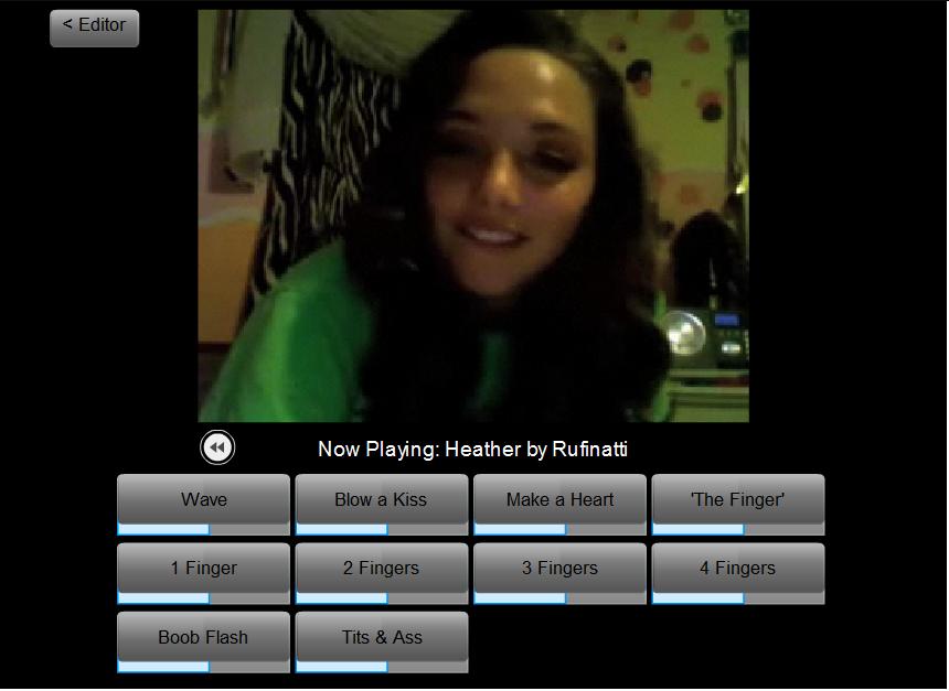 Fausse webcam et son profil Skype